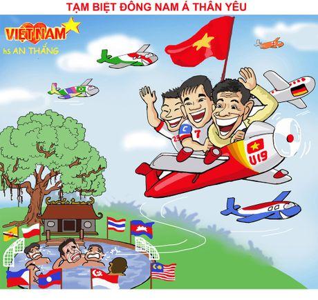Tranh biem hoa U19 Viet Nam: Nhac truong Simeone Hoang Anh Tuan - Anh 3