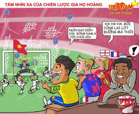 Tranh biem hoa U19 Viet Nam: Nhac truong Simeone Hoang Anh Tuan - Anh 4