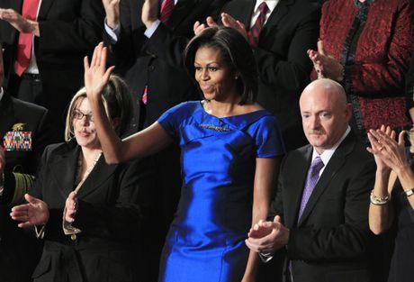 Ngam phong cach thoi trang hang hieu cua phu nhan ong Obama - Anh 10