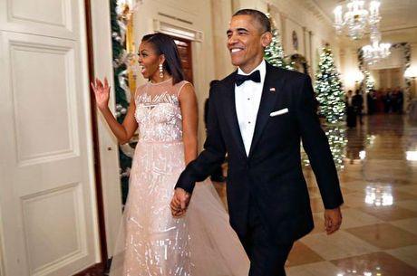 Ngam phong cach thoi trang hang hieu cua phu nhan ong Obama - Anh 7