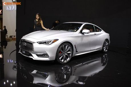 Coupe the thao Infiniti Q60 'chot gia' 3,8 ty dong tai VN - Anh 1