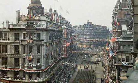 Anh cuc gia tri ve 'Ngay hoa binh' o London 1919 - Anh 1