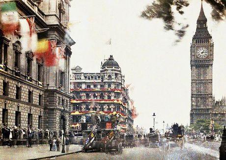 Anh cuc gia tri ve 'Ngay hoa binh' o London 1919 - Anh 2
