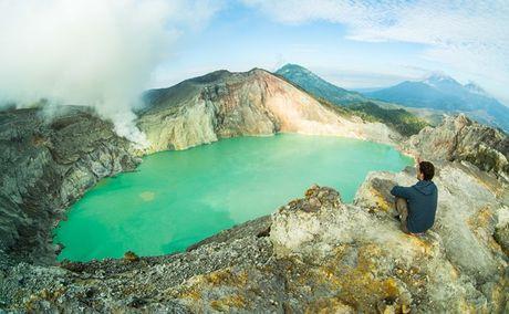 Ngam 'kiet tac' nui lua ky ao Ijen o Indonesia - Anh 3