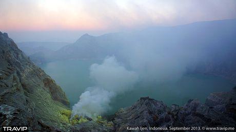 Ngam 'kiet tac' nui lua ky ao Ijen o Indonesia - Anh 6