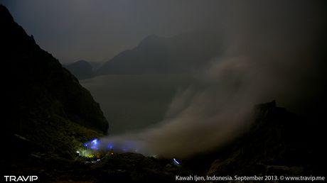 Ngam 'kiet tac' nui lua ky ao Ijen o Indonesia - Anh 7