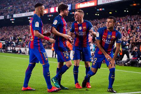 Barcelona thang chat vat doi chot bang - Anh 1