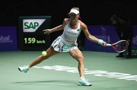 WTA Finals 2016: Kerber gap lai Cibulkova trong tran chung ket - Anh 1