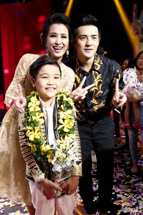 Trinh Nhat Minh - Hanh trinh den ngoi Quan quan Giong hat Viet Nhi 2016 - Anh 10