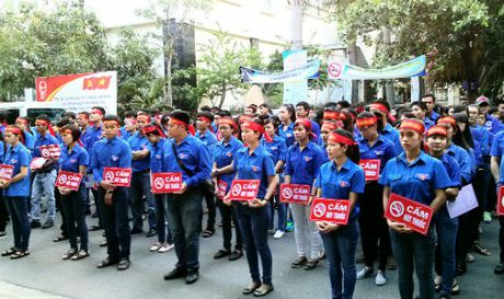 Chung tay hanh dong vi mot Viet Nam khong khoi thuoc - Anh 1