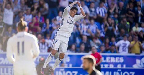 Ronaldo 'giai han', Real de bep Alaves - Anh 1