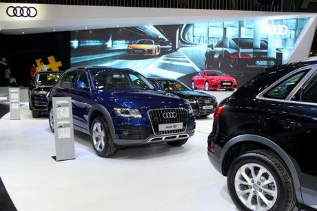 Toan canh dan xe va cac dai su Audi tai VIMS 2016 - Anh 12