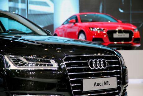 Toan canh dan xe va cac dai su Audi tai VIMS 2016 - Anh 13