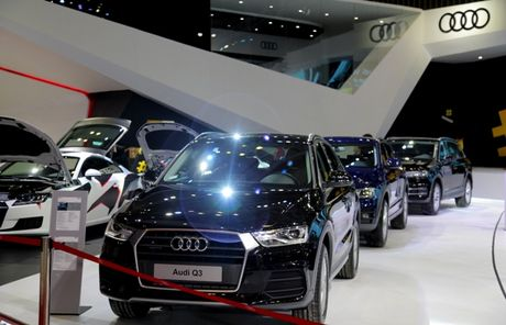 Toan canh dan xe va cac dai su Audi tai VIMS 2016 - Anh 15
