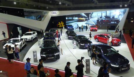Toan canh dan xe va cac dai su Audi tai VIMS 2016 - Anh 1