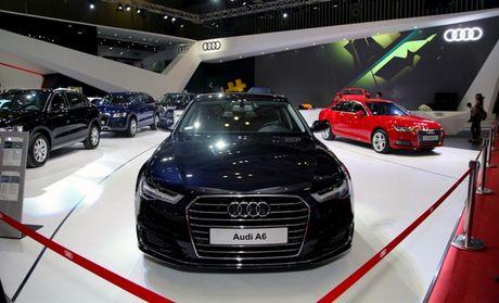 Toan canh dan xe va cac dai su Audi tai VIMS 2016 - Anh 2