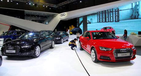Toan canh dan xe va cac dai su Audi tai VIMS 2016 - Anh 3