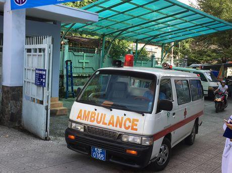TPHCM: Them mot tram cap cuu ve tinh 115 tai Cu Chi - Anh 1