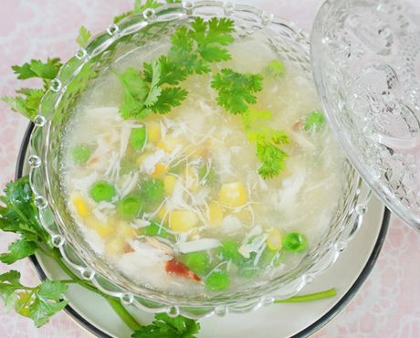 Huong dan cach nau sup cua thom ngon bo duong - Anh 8