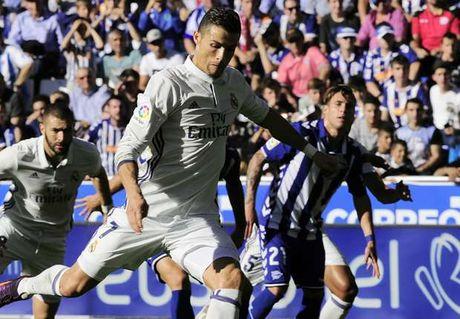 C.Ronaldo ghi tong cong 53 ban tu cham phat den o La Liga - Anh 1