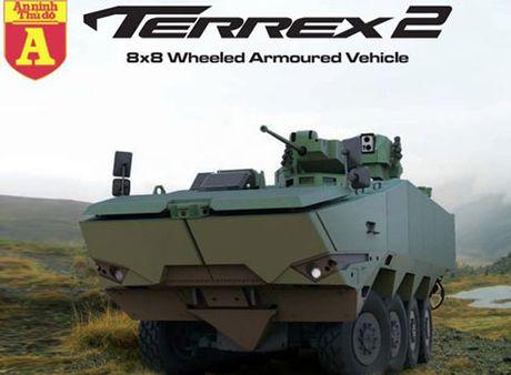 Ung cu vien thay the xe boc thep BTR-60 den tu Singapore - Anh 1