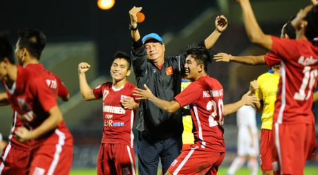U.21 HAGL 0-0 U.21 Sanna Khanh Hoa (7-8): Cu soc tren cham phat den - Anh 1