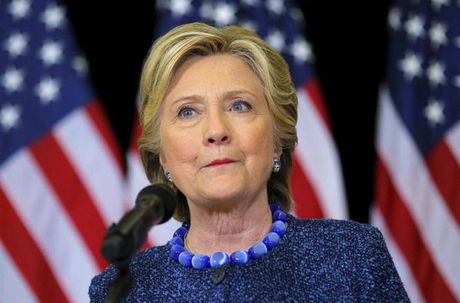 Ba Hillary Clinton chien thang theo ket qua bo phieu som - Anh 1