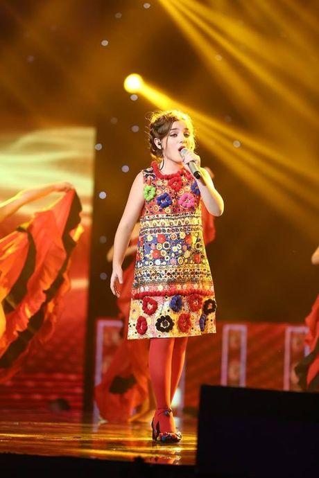 Nhat Minh xuat sac dang quang Quan quan Giong hat Viet Nhi 2016 - Anh 3