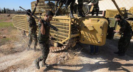 Quan doi Syria giai phong hang loat lang mac khoi tay IS o Aleppo - Anh 1