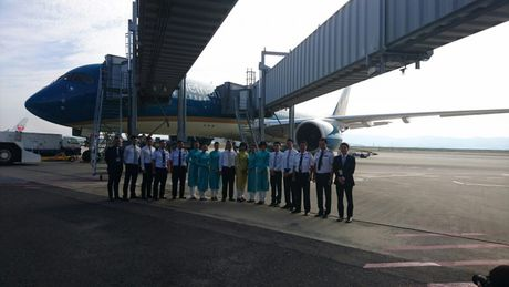 Vietnam Airlines dua Airbus A350 vao khai thac duong bay TPHCM - Osaka - Anh 1