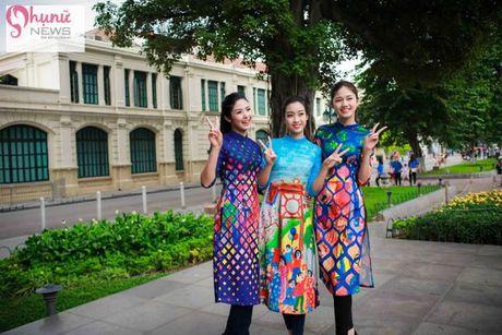 Do sac loat nguoi dep Hoa hau, A hau Viet Nam khi cung dien ta ao dai - Anh 12