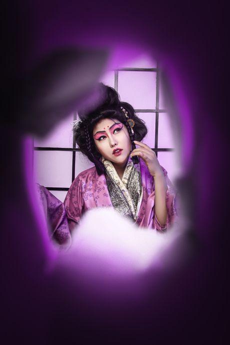 Phi Thanh Van dien kimono, hoa nang geisha - Anh 4