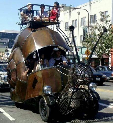 Ron nguoi ngam xe hop phong cach Halloween kinh di - Anh 4