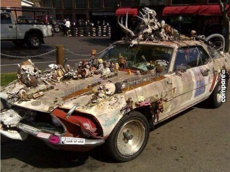 Ron nguoi ngam xe hop phong cach Halloween kinh di - Anh 7