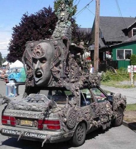 Ron nguoi ngam xe hop phong cach Halloween kinh di - Anh 8
