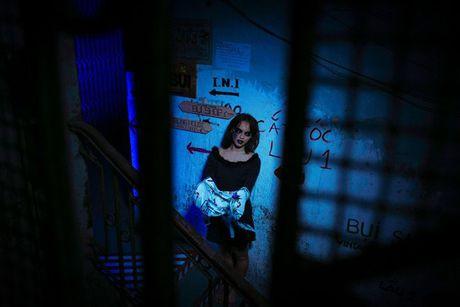 Mai Ngo: 'Chi mat moc, khong chan may thi hoa trang Halloween da thanh cong' - Anh 2