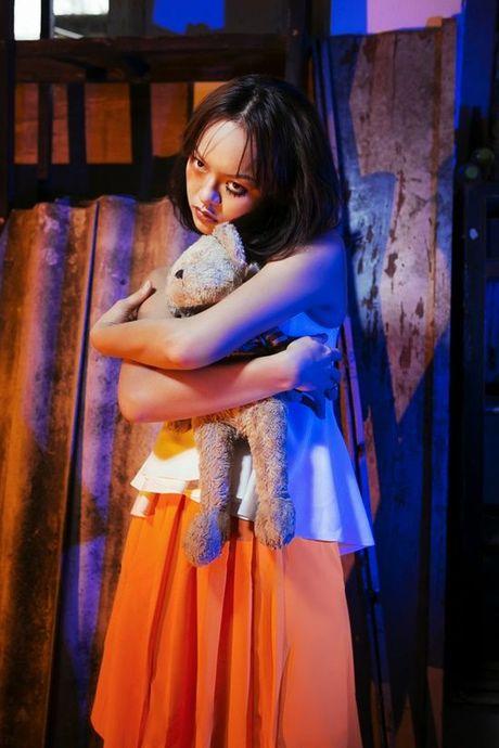 Mai Ngo: 'Chi mat moc, khong chan may thi hoa trang Halloween da thanh cong' - Anh 6