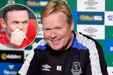 Ronald Koeman vay goi, Rooney co dap loi? - Anh 1