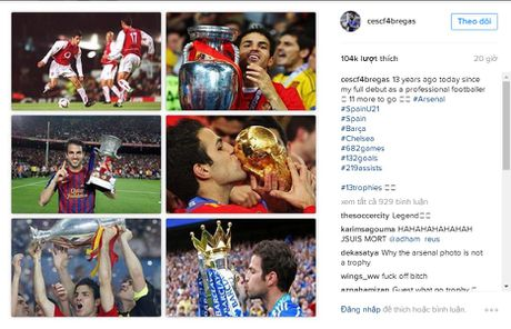 Dang anh 'dim hang' Arsenal, Fabregas khien cac CDV nong mat - Anh 2