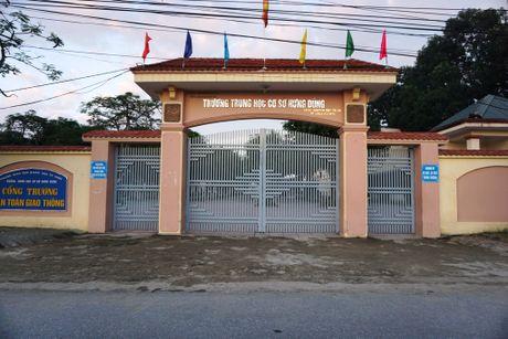 Nghe An: Be tac vu 290 phu huynh Truong THCS Hung Dung kien nghi dung VNEN - Anh 2