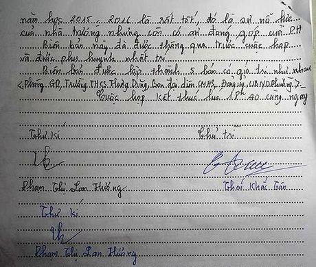 Nghe An: Be tac vu 290 phu huynh Truong THCS Hung Dung kien nghi dung VNEN - Anh 3