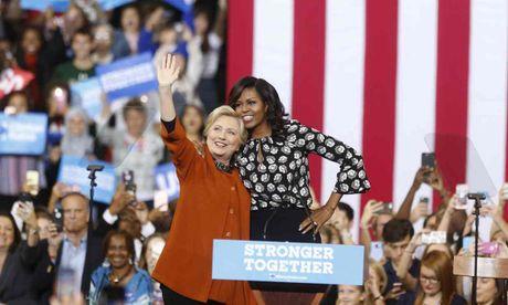 Tu khi nao Michelle Obama tro thanh dong minh cua Hillary Clinton? - Anh 1