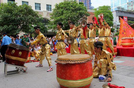 Man nhan xem 'Lan len mai hoa Thung' tren pho di bo - Anh 10