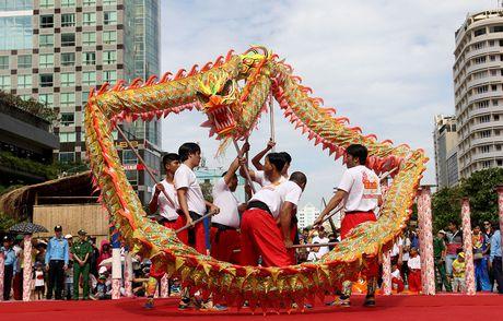 Man nhan xem 'Lan len mai hoa Thung' tren pho di bo - Anh 11