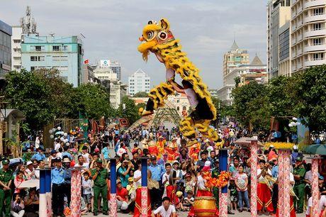 Man nhan xem 'Lan len mai hoa Thung' tren pho di bo - Anh 3