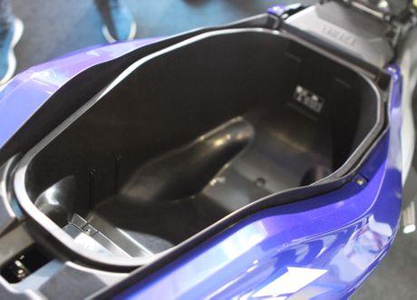 Chi tiet Yamaha NVX - xe tay ga thay the Nouvo - Anh 11