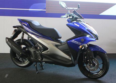 Chi tiet Yamaha NVX - xe tay ga thay the Nouvo - Anh 1
