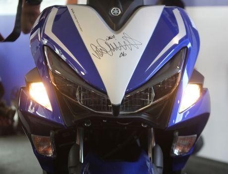 Chi tiet Yamaha NVX - xe tay ga thay the Nouvo - Anh 3