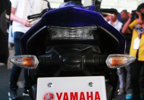 Chi tiet Yamaha NVX - xe tay ga thay the Nouvo - Anh 4