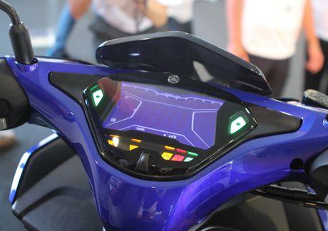 Chi tiet Yamaha NVX - xe tay ga thay the Nouvo - Anh 5